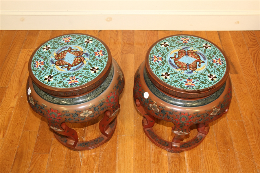 Pair of Antique Chinese Tables