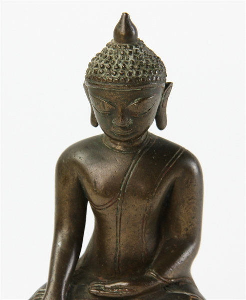 18th/19th Century Southeast Asian Bronze Buddha