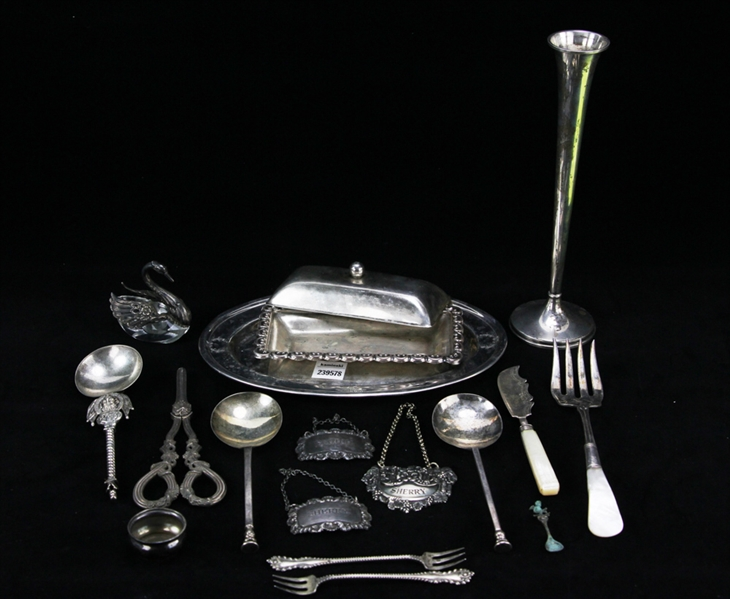 Group of Miscellaneous Silver Pieces