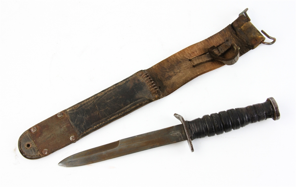 U.S. M3 Case 1943 Fighting Knife with M6 Sheath