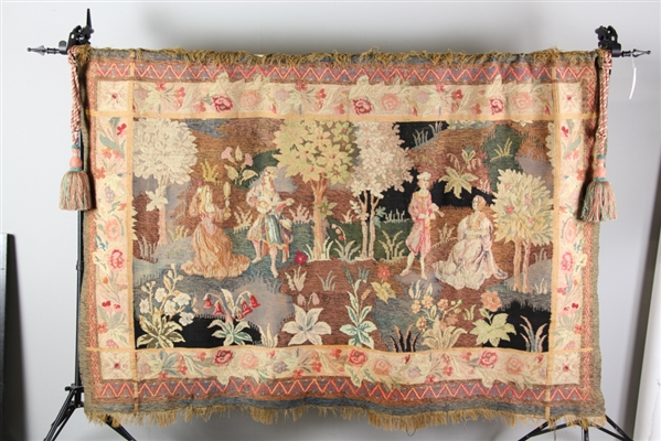 Antique Hand Woven Tapestry