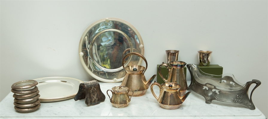 Collection of Sterling and Silverplate