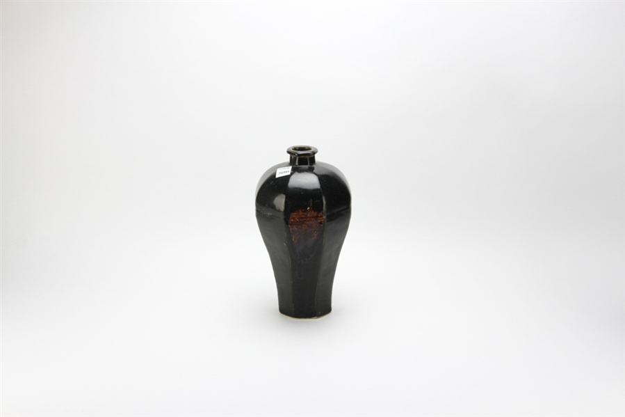 Chinese Black Song Style Mei Vase