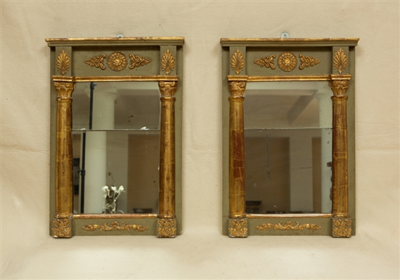 Pair of French Empire Wall Mirrors