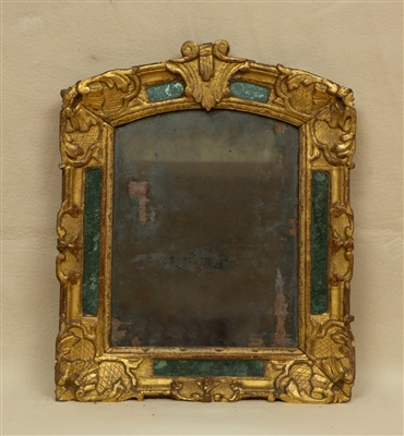 18thC French Giltwood Mirror