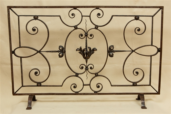 Fancy Wrought Iron Grille