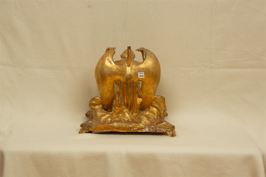 Gold Colored Atlas Angel