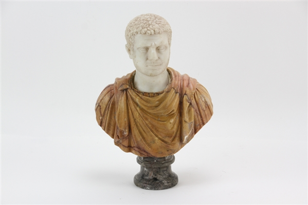 Italian Marble Sculpture of Roman Emperor Caracalla
