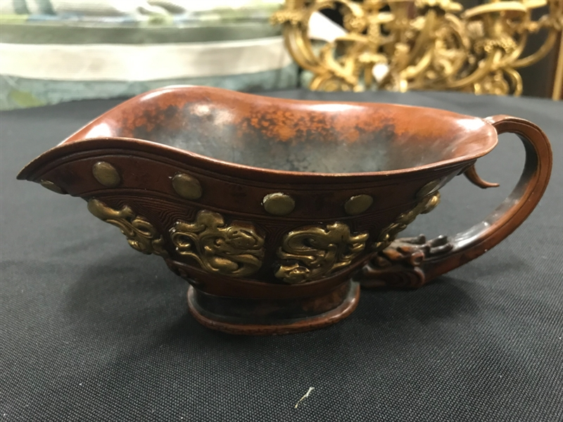 Chinese Bronze Cup