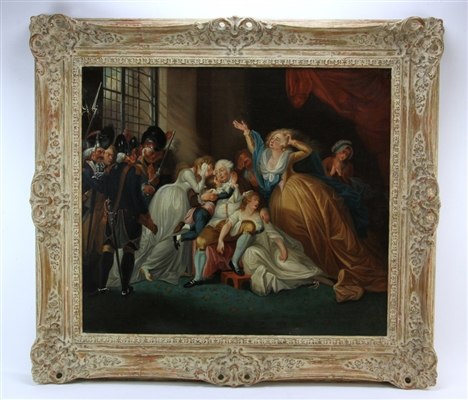 19thC French, French Revolution, Oil on Canvas