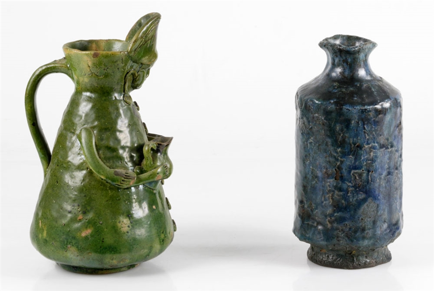 Antique Glazed Pottery Items