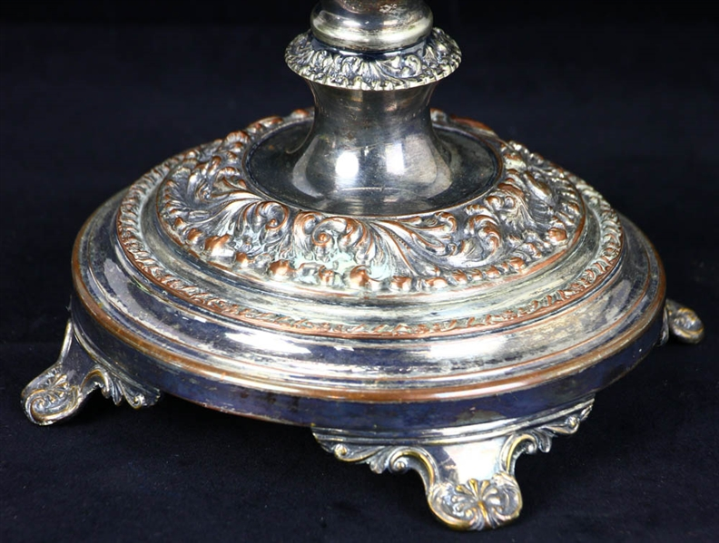English Cut Glass Compote
