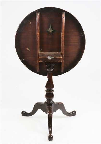 Mahogany Tip Top Table