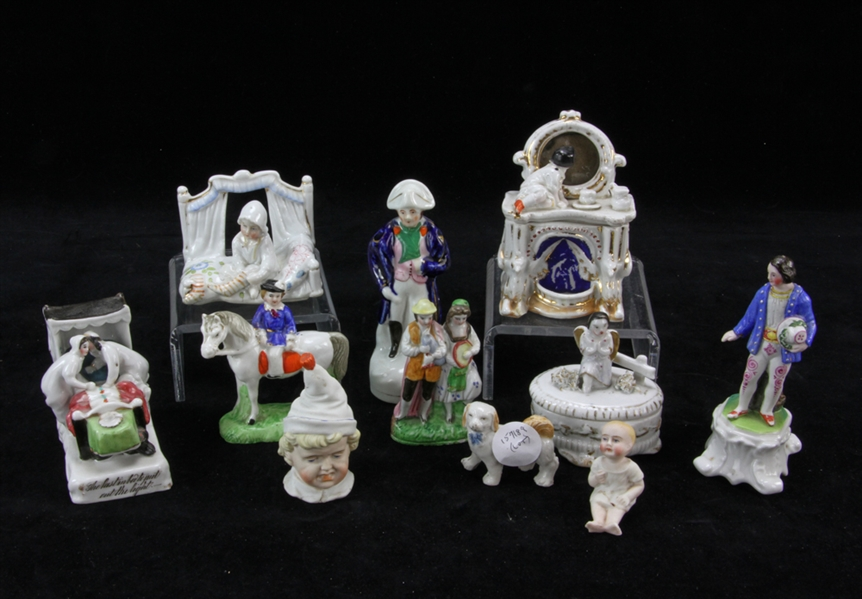 Collection of Vintage German China Miniatures