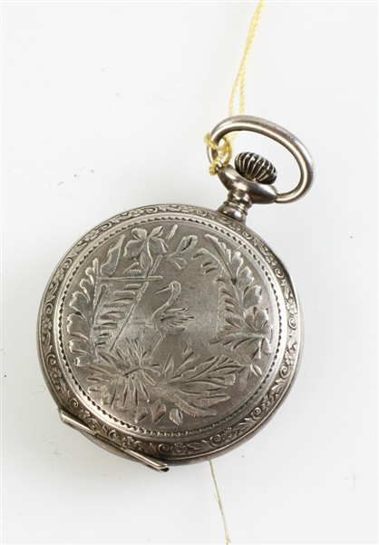 Sterling and Coin Silver Pocket Watches