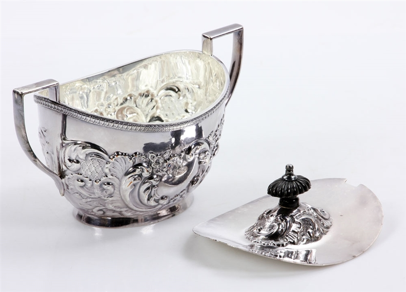 Five Piece Silverplate Tea Service