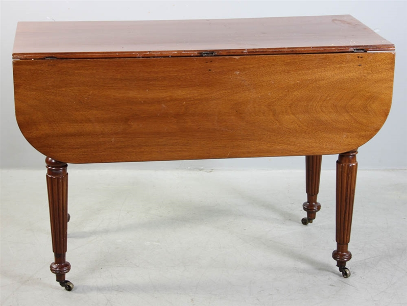 Early 19thC Sheraton Mahogany Table