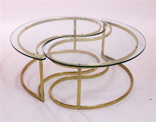 Pair of Milo Baughman Coffee Tables