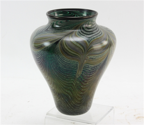 Orient and Flume Pulled Feather Vase