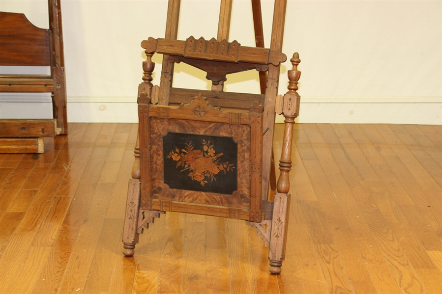 19thC Victorian Eastlake Style Easel