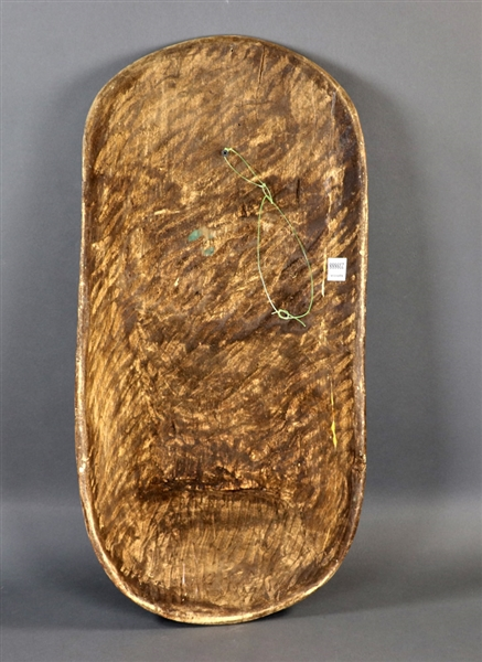 African Carved Wood Fertility Shield