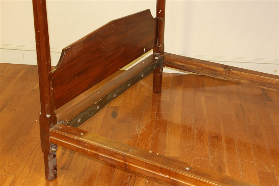 Antique Sheraton New England Canopy Style Bed