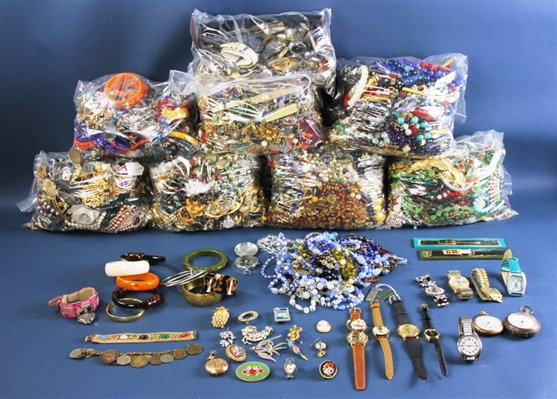 Very Large Collection of Costume Jewelry