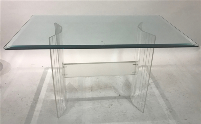 Mid Century Modern Lucite Cocktail Table