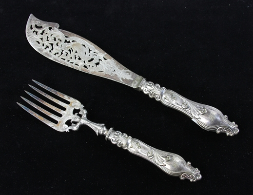 Silverplate Fish Set