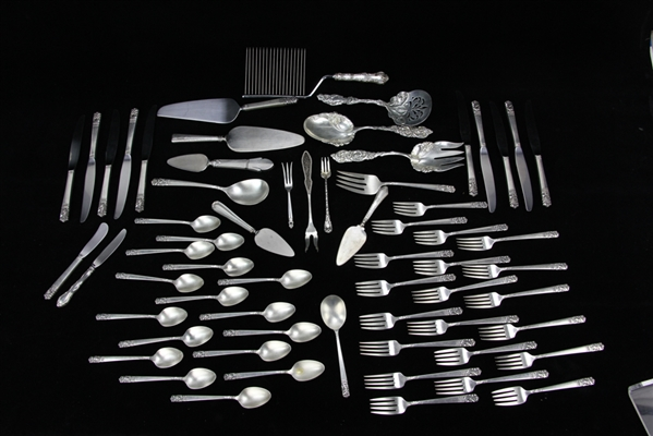 Heirloom Sterling Flatware, Mansion House
