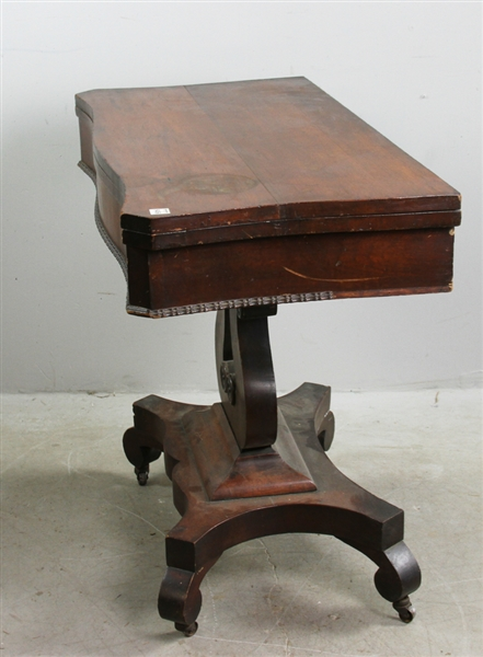 Classical Empire Mahogany Game Table