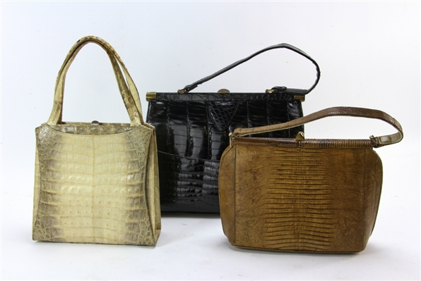 Three Handbags