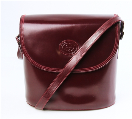 Gucci Maroon Shoulder Bag