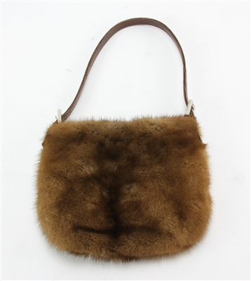 Brown Mink Handbag