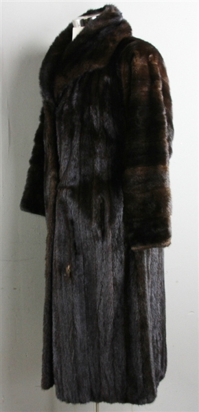 Full Length Mink Fur Coat