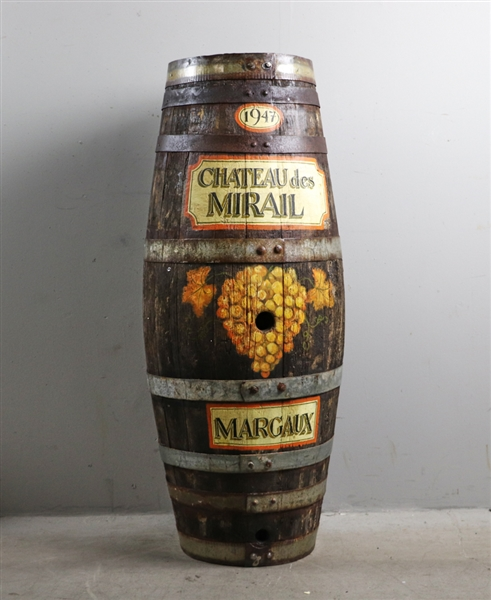 Circa 1900 French Wine Cask