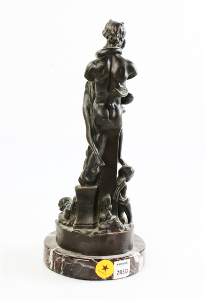 French Bronze Figural Sculpture