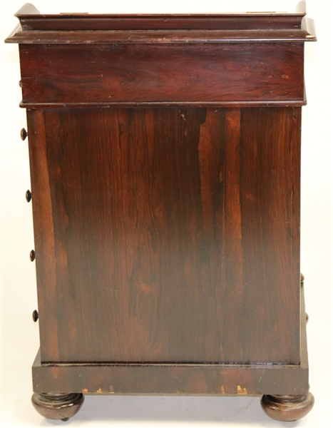 19th C Mahogany Davenport Desk