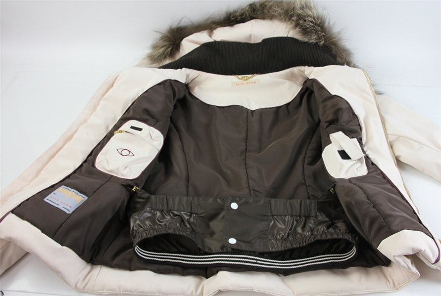 Erin Snow Pale Peach Ski Jacket