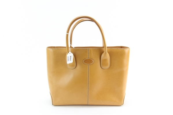 Tods Tan Leather D Bag