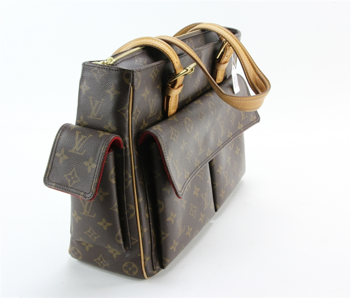 Louis Vuitton Paris Circa 2000 Leather Handbag