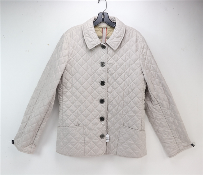 Three Burberry Quilted Jackets
