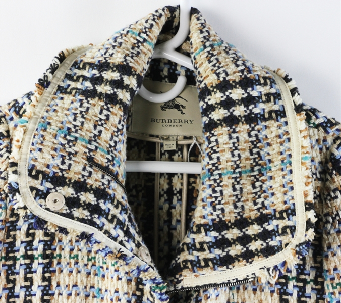 Burberry Tweed Coat