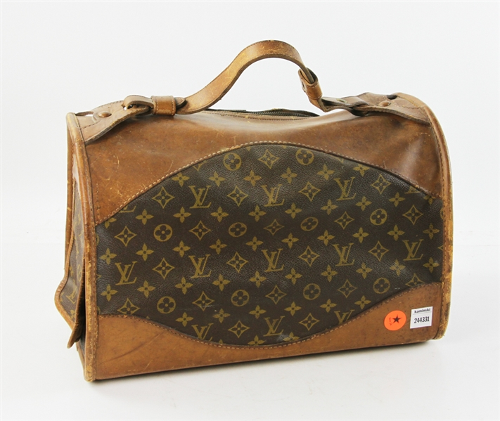 Louis Vuitton Vintage Pet Carrier