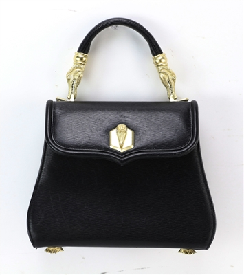 Barry Kieselstien-Cord Ladies Black Handbag