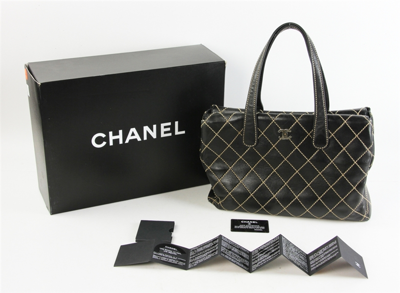 Chanel Large Black Classic Tote Bag