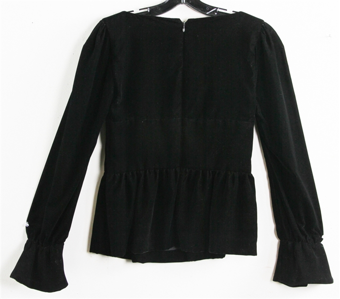 Tom Ford Black Velvet Top