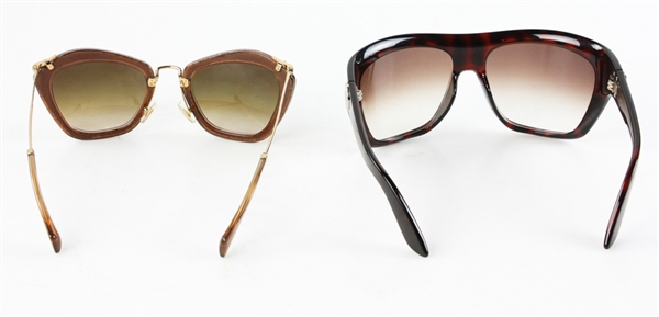 Miu Miu and Jimmy Choo Sunglasses
