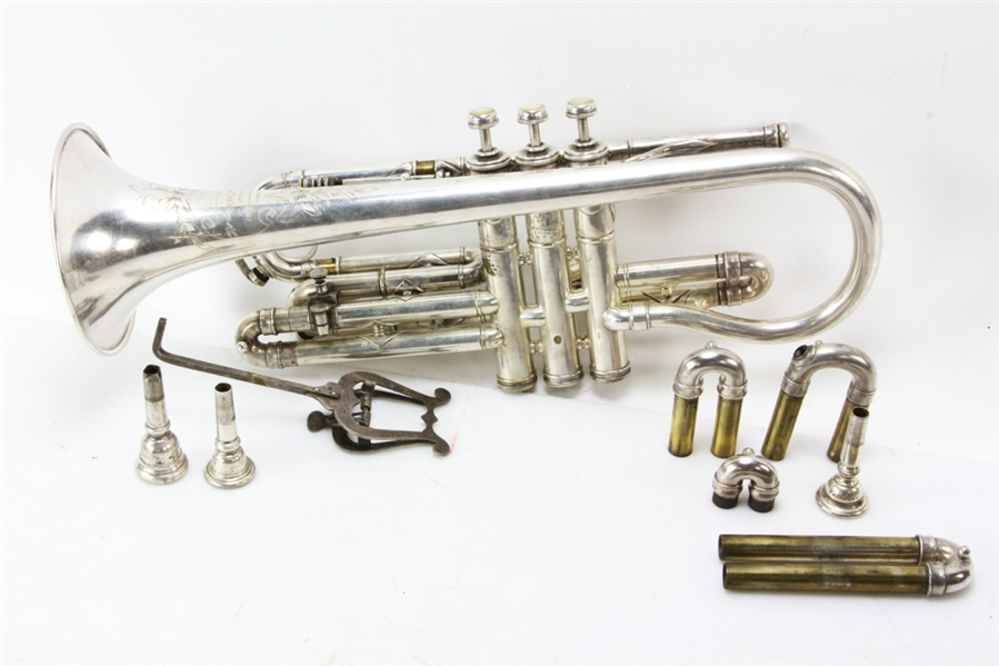Two Frank Holton & Co. Horn Instruments