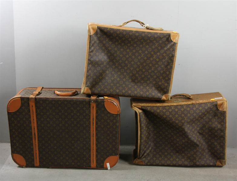 Three Pieces of Louis Vuitton Luggage